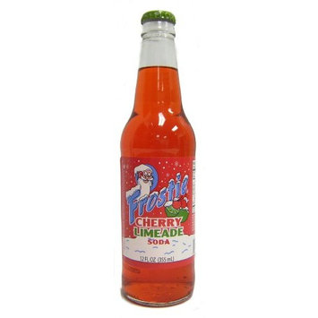 Orca Beverage (Retro) Frosite Cherry Limeade Made with Real Cane Sugar 12 Pack