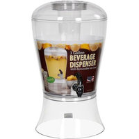 Creative Bath Products Creative Bath 3-Gallon Beverage Dispenser with Ice Core