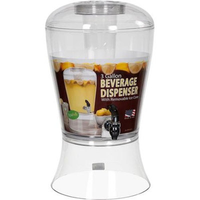 Creative Bath Products Creative Bath 3-Gallon Beverage Dispenser with Ice Core