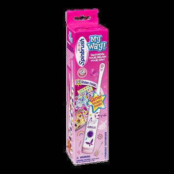Arm & Hammer Kid's Spinbrush My Way Powered Toothbrush