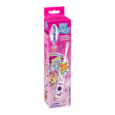 Arm & Hammer Kid's Spinbrush My Way Powered Toothbrush