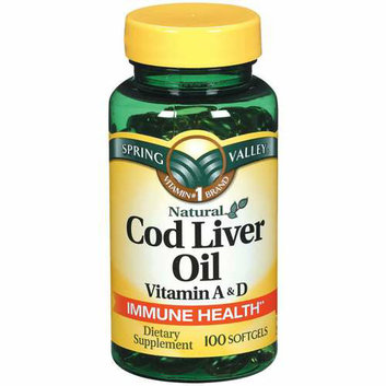 Spring Valley Cod Liver Oil Supplement