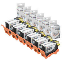 LD Compatible Lexmark 150XL 14N1614 Set of 6 High Yield Black Inkjet Cartridges for use in Lexmark Pro 715, Pro 915, S315, S415 & S515 Printers