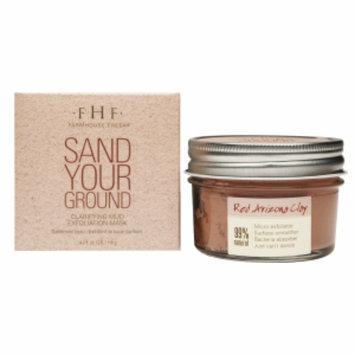 FarmHouse Fresh Sand Your Ground Clarifying Mud Exfoliation Mask, 4.2 fl oz