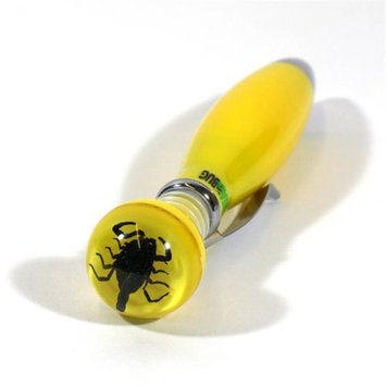 Ed Speldy East Company Ltd Ed Speldy East Company P308 Real Bug Scorpion Pen Yellow