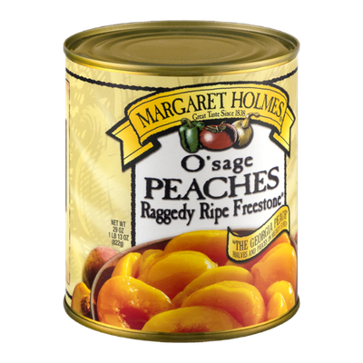 Margaret Holmes O'sage Peaches in Heavy Syrup