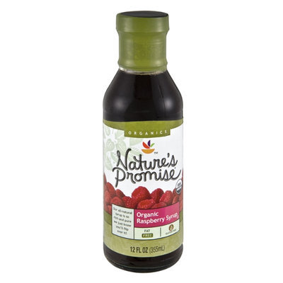 Nature's Promise Organic Raspberry Syrup