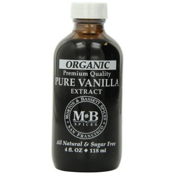 Morton & Bassett Premium Vanilla Extract, 4-ounces