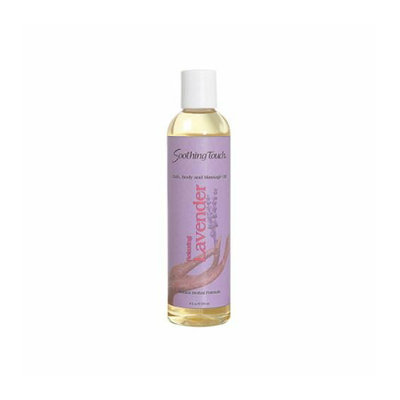 Soothing Touch & Sunshine Spa Soothing Touch Bath and Body Oil Lavender 8 oz