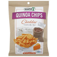 Simply 7 Cheddar Quinoa Chips, 3.5 oz, (Pack of 12)