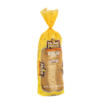 Home Pride Wheat Bread Butter Top