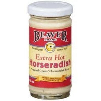 Beaver Brand Beaver Extra Hot Horseradish Sauce (12x8.5Oz)