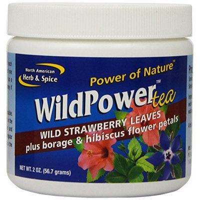 North American Herb & Spice North American Herb and Spice, Wild Power Tea, 2-Ounce