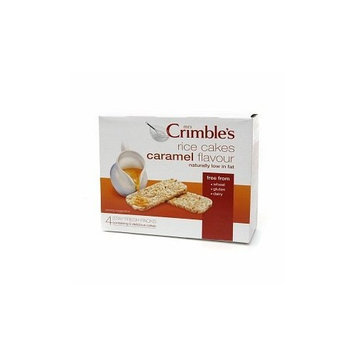 Mrs. Crimble's Mrscrm: Rice Cake, Caramel, 4.8 OZ