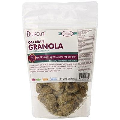 Dukan Diet Vanilla Almond Oat Bran Granola, 8.5 Ounce