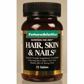 FutureBiotics Hair Skin and Nails For Men 75 Tablets