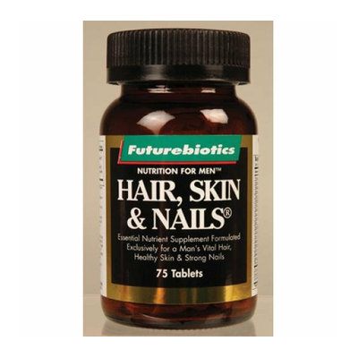 FutureBiotics Hair Skin and Nails For Men 75 Tablets