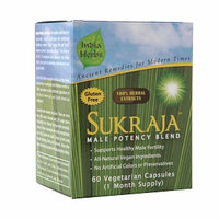 India Herbs Sukraja Male Potency Blend