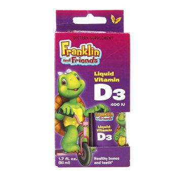 Treehouse Franklin and Friends Liquid Vitamin D3 400 IU, 1.7 fl oz