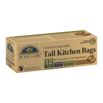 If You Care Certified Compostable Tall Kitchen Bags