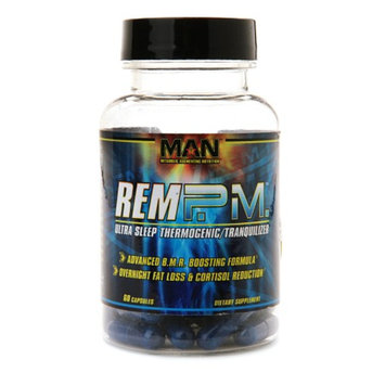 MAN Sports REM P.M. Ultra Sleep Thermogenic/Tranquilizer