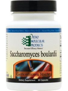Ortho Molecular Products - Saccharomyces Boulardii - 60 Capsules