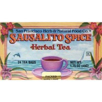 San Francisco Herb   Natural Food Co. SAN FRANCISCO HERB & TEAS Sausalito Spice Herbal Tea 24 BAG