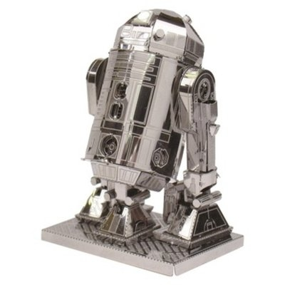 Fascinations Metal Earth Build-Your-Own Star Wars R2-D2 Model Kit