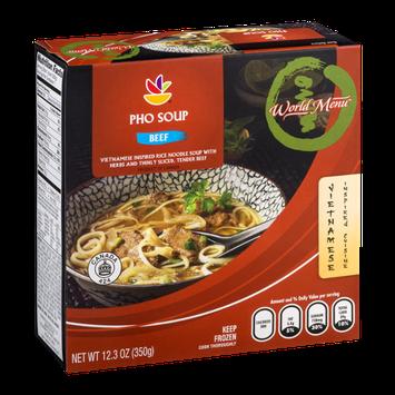 Ahold World Menu Pho Soup Beef