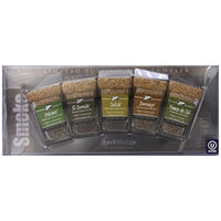 Saltworks Limited Edition Artisan Salt Sampler w/3 bowls - Smoke