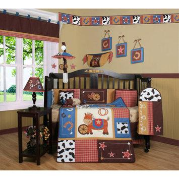 Geenny Boutique Horse Cowboy 13 Piece Crib Bedding Set
