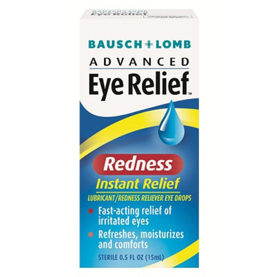 Advanced Eye Relief Instant Relief Lubricant Redness Reliever Eye Drops