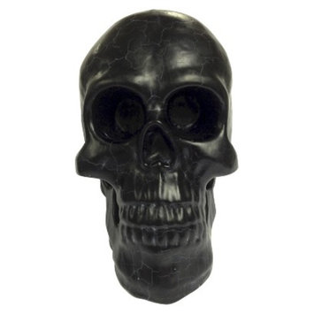 Makebest Large Bleeding Skull Candle - Black
