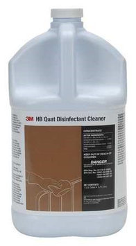 3M HB Quat Disinfectant Cleaner Concentrate, 1 Gallon