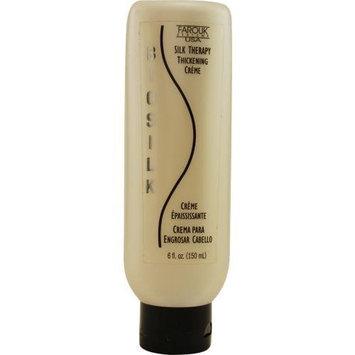 Biosilk Silk Therapy Thickening Cream, 6-Ounces Bottle
