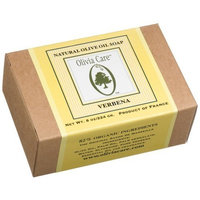 Olivia Care Olive Oil Soap , Verbena, 8-Ounce Boxes (Pack of 4)