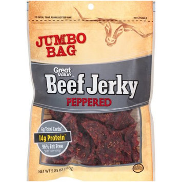 Wal-mart Stores, Inc. Great Value Peppered Beef Jerky, 5.85 oz