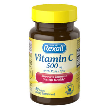 Rexall Vitamin C 500 mg with Rose Hips - Tablets, 60 ct