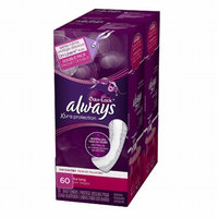 Always Xtra Protection Daily Liners Plus Odor-Lock Pads