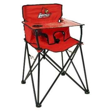 Ciao! Baby ciao! baby Louisville Cardinals Portable Highchair - Red