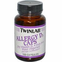 Twinlab Allergy D3 Caps 400 IU 100 Capsules