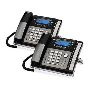 Ge/rca RCA ViSYS 25424RE1 (2-Pack) RCA 4-Line EXP Speakerphone w/ CID