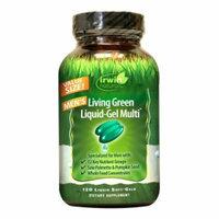 Irwin Naturals Men's Living Green Liquid-Gel Multi