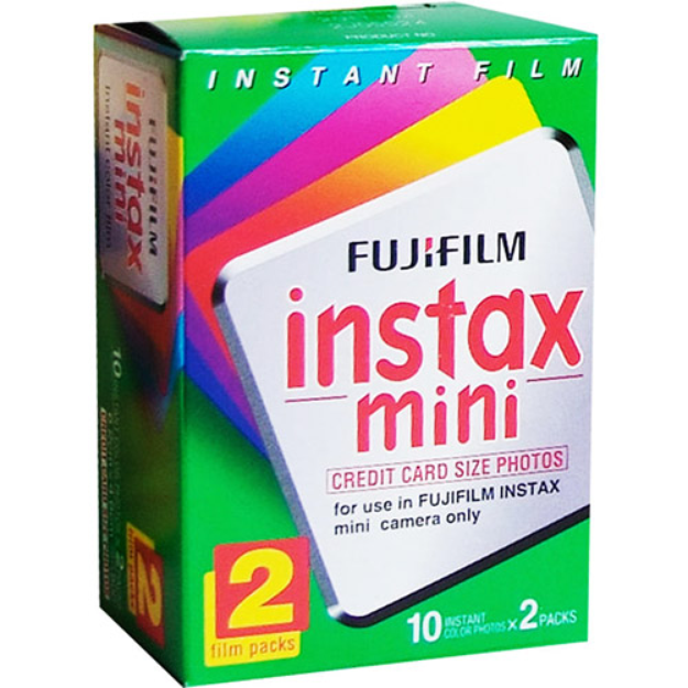 Fuji Instax Mini Instant Color Film Twin Pack - 15060835
