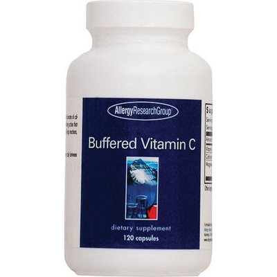Buffered Vitamin C - 120 Vegetarian Capsules - Allergy Research Group