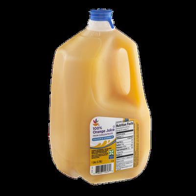 Ahold 100% Orange Juice from Concentrate Calcium & Vitamin D