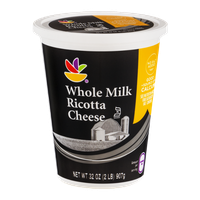Ahold Whole Milk Ricotta Cheese