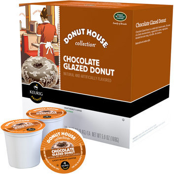 Keurig Green Mountain Coffee Donut House Chocolate Glazed Donut Light Roast Coffee K-Cups