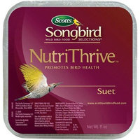 Scotts 2011810 Nutri Thrive Blend Suet, 11 Oz (Pack of 12)