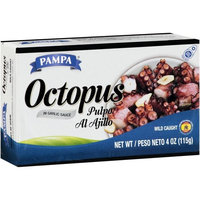 Pampa Octopus in Garlic Sauce